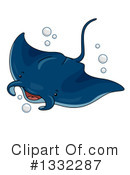 Manta Ray Clipart #1332287 by BNP Design Studio