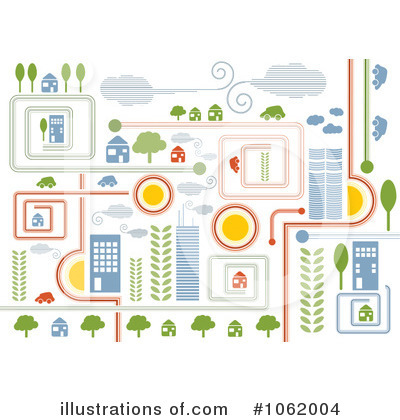 City Clipart #1062004 by MilsiArt