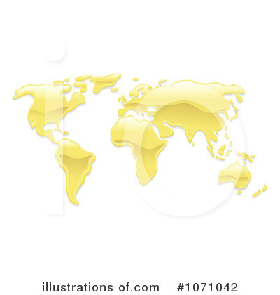 Royalty-Free (RF) Map Clipart Illustration by AtStockIllustration - Stock Sample #1071042