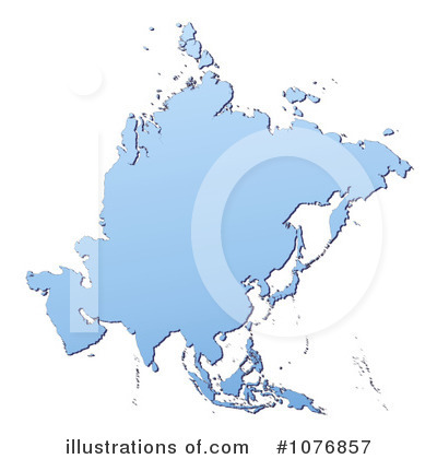 Map Clipart #1076857 by Jiri Moucka