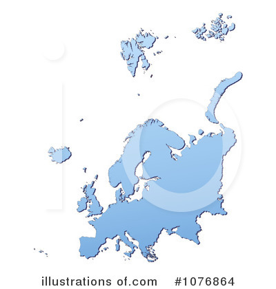 Map Clipart #1076864 by Jiri Moucka