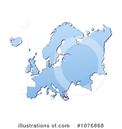 Map Clipart #1076868 by Jiri Moucka