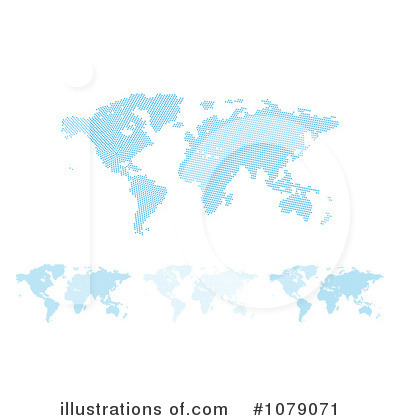 Map Clipart #1079071 by MilsiArt