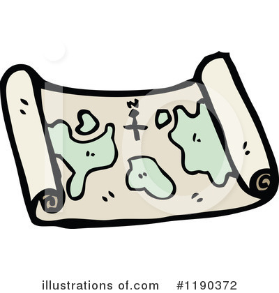 Treasure Map Clipart #1190372 by lineartestpilot