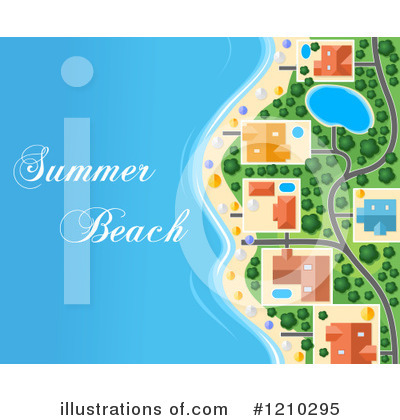 Beach Clipart #1210295 by Vector Tradition SM