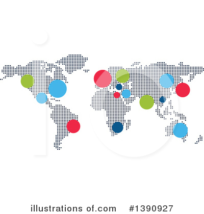 Royalty-Free (RF) Map Clipart Illustration by Vector Tradition SM - Stock Sample #1390927