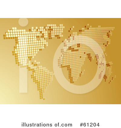 Royalty-Free (RF) Map Clipart Illustration by Kheng Guan Toh - Stock Sample #61204