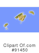 Map Clipart #91450 by Michael Schmeling