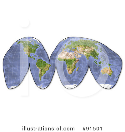 Globe Clipart #91501 by Michael Schmeling
