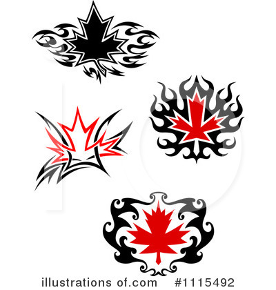 Leaves Clipart #1115492 by Vector Tradition SM
