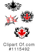 Maple Leaf Clipart #1115492 by Vector Tradition SM