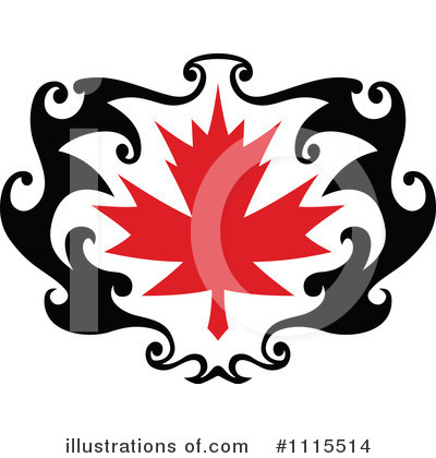 Leaves Clipart #1115514 by Vector Tradition SM