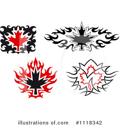 Leaves Clipart #1118342 by Vector Tradition SM