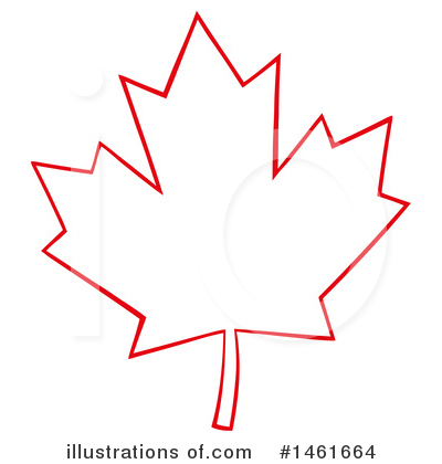 Maple Leaf Clipart #1461664 by Hit Toon