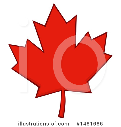 Maple Leaf Clipart #1461666 by Hit Toon