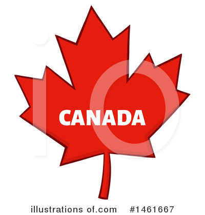 Maple Leaf Clipart #1461667 by Hit Toon