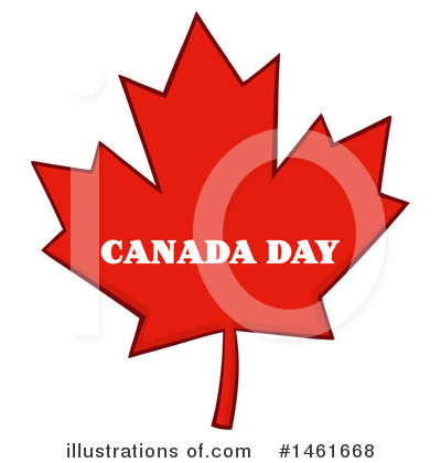 Maple Leaf Clipart #1461668 by Hit Toon