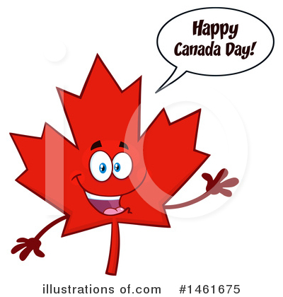 Maple Leaf Clipart #1461675 by Hit Toon