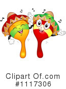 Royalty-Free (RF) Maracas Clipart Illustration #1117306