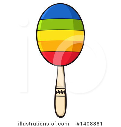 Maracas Clipart #1408861 by Hit Toon