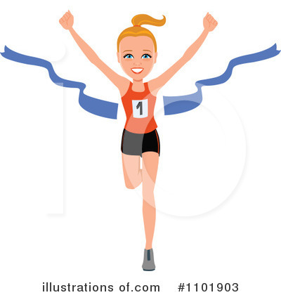 Finish Line Clipart #1101903 by Monica