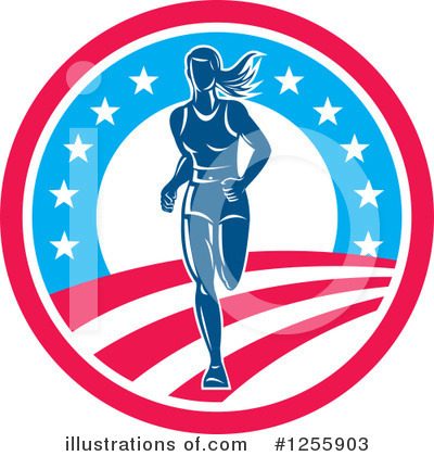 Runner Clipart #1255903 by patrimonio