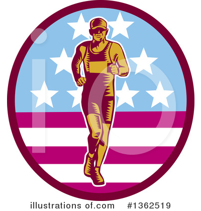 Runner Clipart #1362519 by patrimonio