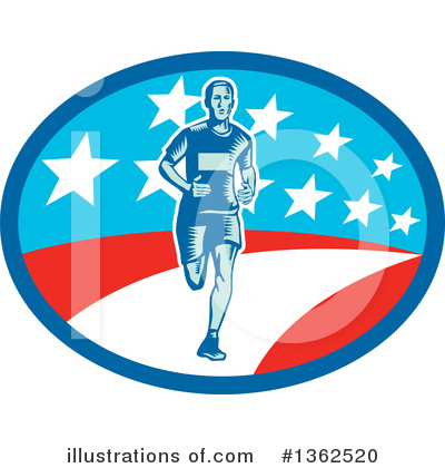 Runner Clipart #1362520 by patrimonio