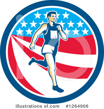 Runner Clipart #1264906 by patrimonio