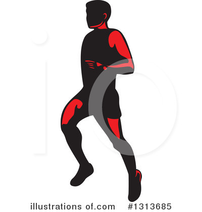 Runner Clipart #1313685 by patrimonio