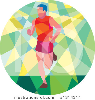 Runner Clipart #1314314 by patrimonio