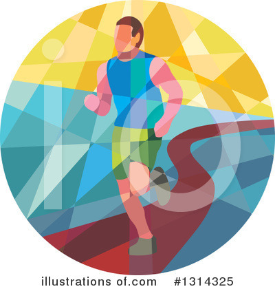 Runner Clipart #1314325 by patrimonio