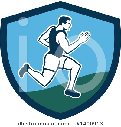 Runner Clipart #1400913 by patrimonio