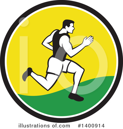 Runner Clipart #1400914 by patrimonio
