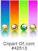Royalty-Free (RF) marbles Clipart Illustration #42513