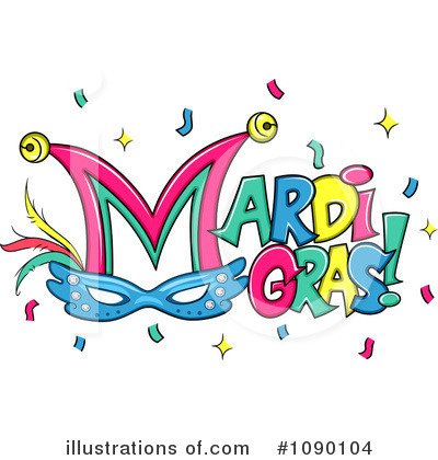 Mardi Gras Clipart #1090104 by BNP Design Studio