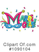 Royalty-Free (RF) Mardi Gras Clipart Illustration #1090104