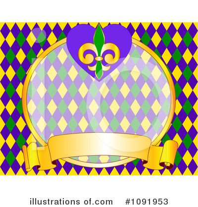 Mardi Gras Clipart #1091953 by Pushkin
