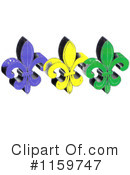 Mardi Gras Clipart #1159747 by LoopyLand