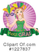 Royalty-Free (RF) Mardi Gras Clipart Illustration #1227837