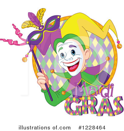 Mardi Gras Clipart #1228464 by Pushkin