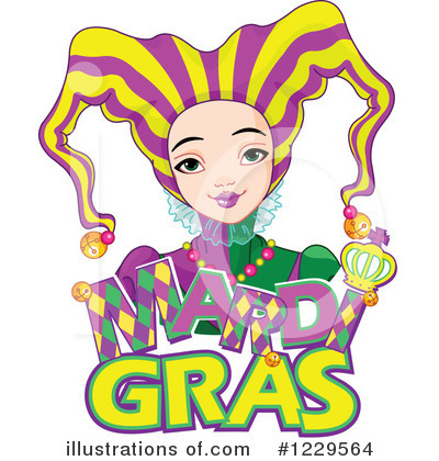Mardi Gras Clipart #1229564 by Pushkin