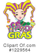 Royalty-Free (RF) Mardi Gras Clipart Illustration #1229564