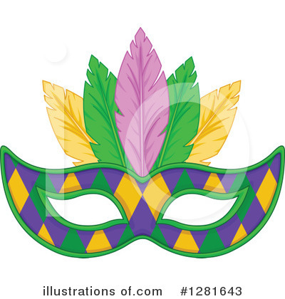 Mardi Gras Clipart #1281643 by Pushkin