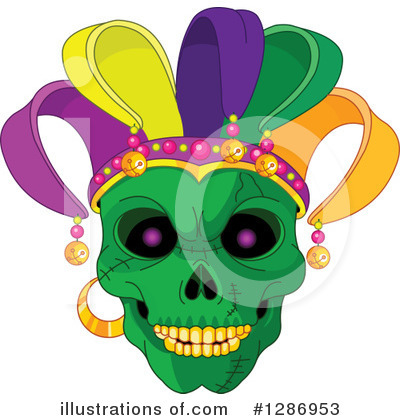 Skull Clipart #1286953 by Pushkin