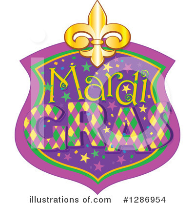 Mardi Gras Clipart #1286954 by Pushkin