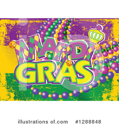Mardi Gras Clipart #1288848 by Pushkin