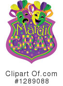 Royalty-Free (RF) Mardi Gras Clipart Illustration #1289088