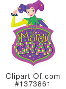 Mardi Gras Clipart #1373861 by Pushkin