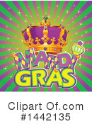 Mardi Gras Clipart #1442135 by Pushkin